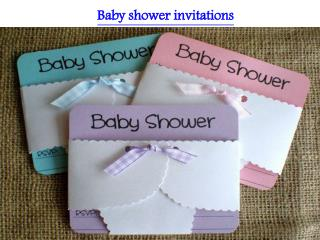 UNIQUE IDEAS FOR YOUR BABY SHOWER INVITATIONS