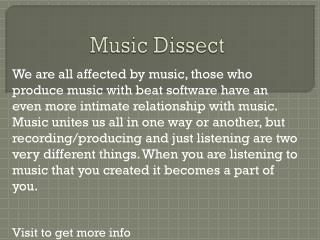 www.musicdissect.org