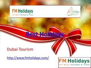Affordable Holiday Packages