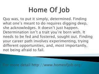 www.homeofjob.org