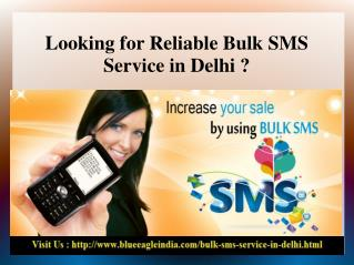Affordable Bulk SMS Service in Delhi
