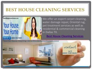 Best House Cleaning Services