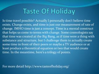 www.tasteofholiday.org