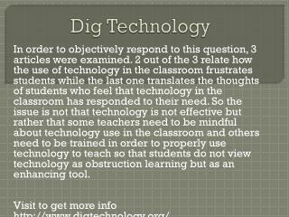 www.digtechnology.org