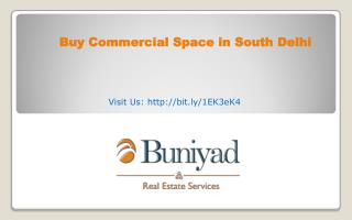 Office Space for Sale in South Delhi