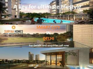 Book luxurious flats at smart city in dwarka Delhi