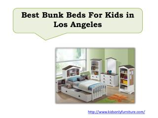 Best Bunk Beds For Kids in Los Angeles