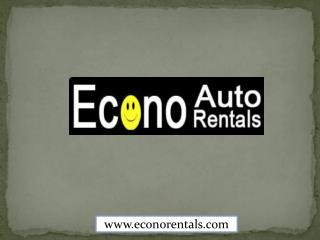 Econo Auto Rentals - Rent a Car in Tampa, Florida