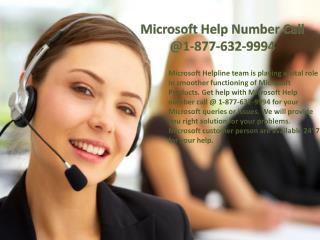 Microsoft Helpline number  @ ~|@|~ 1-877-632-9994 Toll free