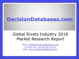 Rivets Market Research Report: Global Analysis 2020-2021