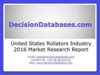 Rollators Industry 2016 : United States Market Outlook