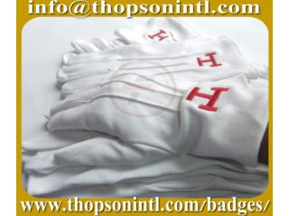masonic royal arch  gloves