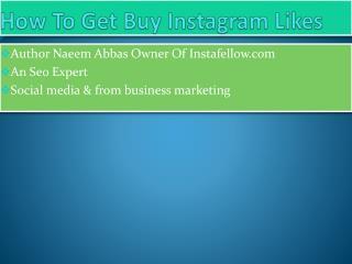 Buy Instagram Likes For Business