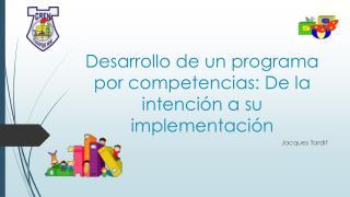 desarrollo de un programa