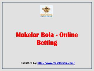 Makelar Bola-Online Betting
