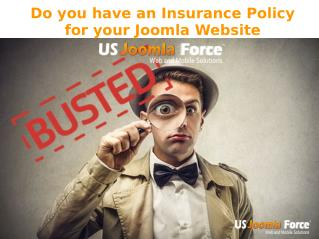 Joomla Website Insurance Service - US Joomla Force