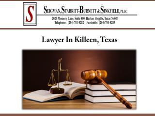 Lawyer In Killeen, Texas