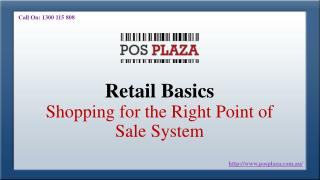 Retail Basics- Shopping for the Right Point of Sale System
