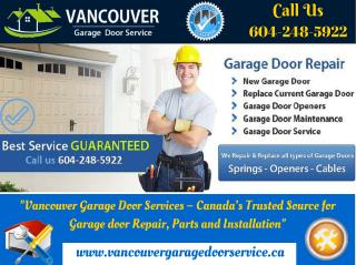 Suggests 5 Simple Garage Door Maintenance Tips _Vancouver Garage Door Service