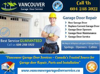 Suggests 5 Simple Garage Door Maintenance Tips _Vancouver Garage Door Service
