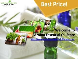 Buy organic essential oils at aromaessentialoilstore.com