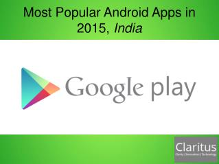 Most popular android app in 2015