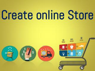 create online store