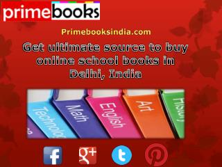 Get ultimate source to buy online school books in Delhi, India
