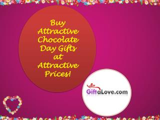 Buy Attractive Chocolate Day Gifts at Attractive Prices!