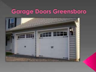 Garage Door Services and Repair