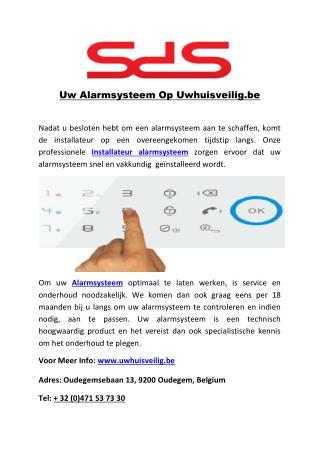 Uw Alarmsysteem Op Uwhuisveilig.be