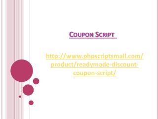 Coupon Script