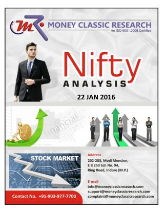 NIFTY 50 REPORT-MONEY CLASSIC RESEARCH