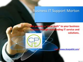 Business IT Support Morton