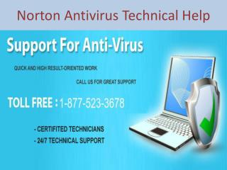 1-877-523-3678 Norton Antivirus Tech Support Phone Number