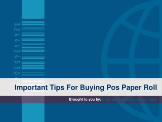 Important Tips For Buying Pos Paper Roll