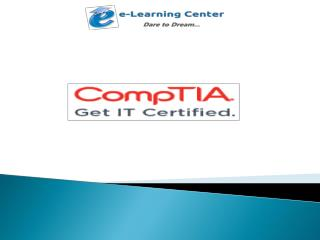 Benefits Of CompTIA Certifications.pptx Uploaded Successfully Fill the form below to publish your presentation.   Title
