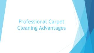 Advantages of Professional Carpet Cleaning
