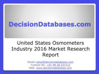 Osmometers Market International Analysis and Forecasts 2020