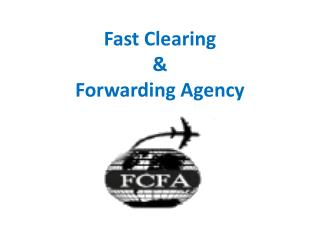 International cargo shipping companies India - FCFA