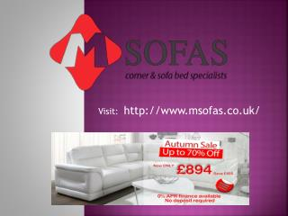 Find comfortable leather corner sofa beds
