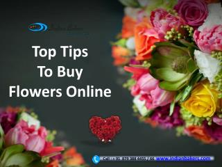 Top Tips To Buy Flowers Online