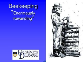 Beekeeping  Enormously rewarding