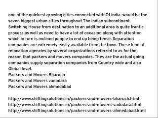 Packers and Movers India Stands For Trouble-free Execution of Total Relocating Process