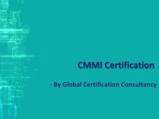Download CMMI Certification