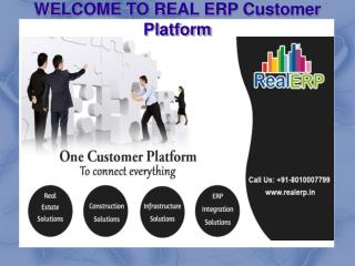 RealERP is a RealEstate Software