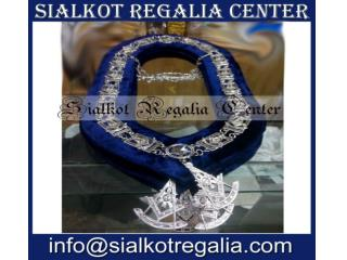 Past Master chain collar with jewels