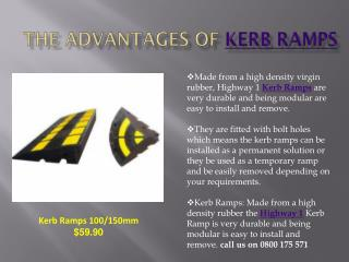 Kerb Ramps