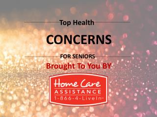 Top Health Concerns for Seniors
