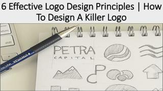 6 Effective Logo Design Principles | How To Design A Killer Logo